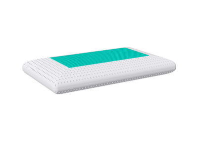 Perforated saponetta pillow with gel